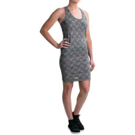 Burton Kenosha Tank Dress - Sleeveless (For Women) in True Black Floral Stripe - Closeouts