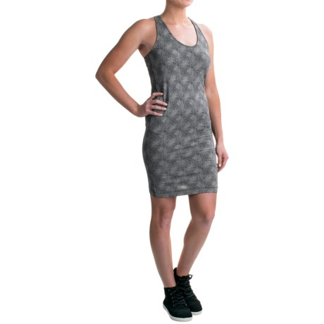 Burton Kenosha Tank Dress - Sleeveless (For Women) in True Black Floral Stripe