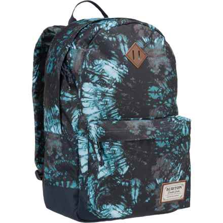 Burton Kettle Pack Backpack in Tie Dye Trench Print - Closeouts