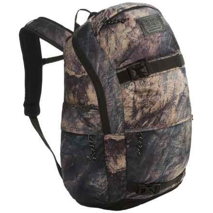Burton Kilo 27L Backpack in Earth Print - Closeouts