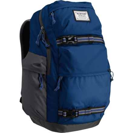 Burton Kilo 27L Backpack in True Blue Honeycomb - Closeouts