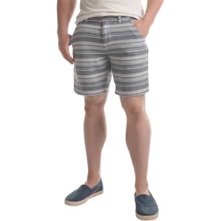 Burton Kingfield Shorts - Slim Straight Fit (For Men) in Fleck Stripe - Closeouts