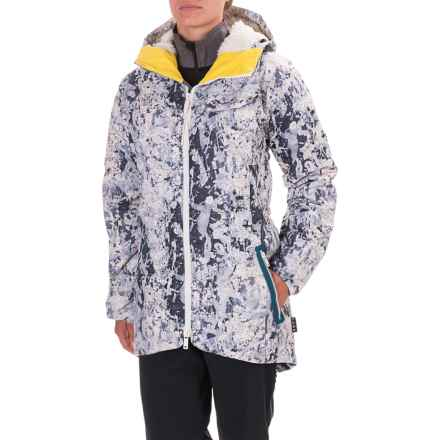 Burton L.A.M.B. x Burton Bolan Down Jacket - Waterproof, 650 Fill Power (For Women) in Paint Crackle - Closeouts