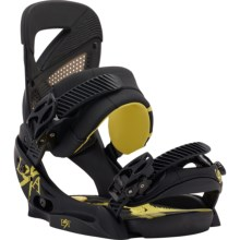 Burton Lexa EST Snowboard Bindings (For Women) in Black/Yellow - Closeouts