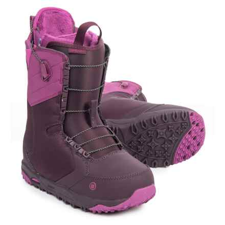 Burton Limelight AF Snowboard Boots - Asian Fit (For Women) in Berry - Closeouts
