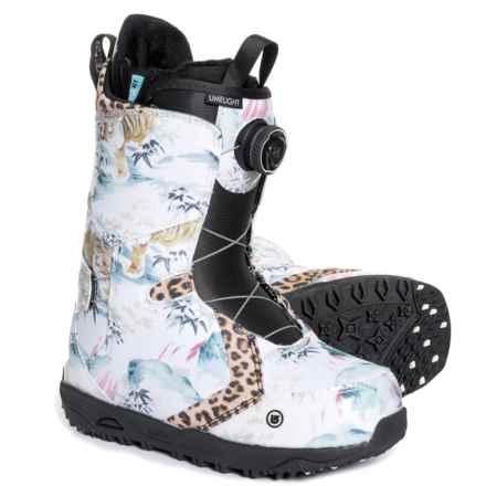 Burton Limelight BOA® Snowboard Boots (For Women) in Lamb - Closeouts