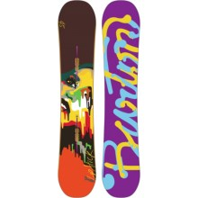 Burton Lip-Stick Snowboard (For Women) in 145 Graphic - Closeouts