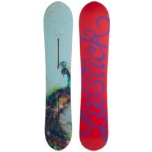 Burton Lip-Stick Snowboard (For Women) in 145 Graphic - Closeouts