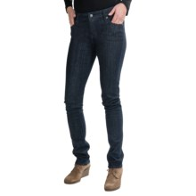 Burton Lorimer Slim Fit Denim Jeans (For Women) in Dark Rinse - Closeouts