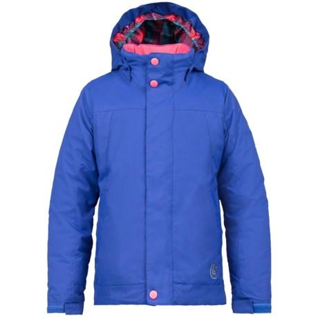Burton Lynx Snowboard Jacket - Waterproof, Insulated (For Girls) in Deja Blue