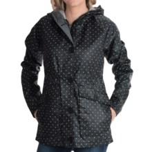 Burton Lyra Jacket (For Women) in True Black Mini Dot - Closeouts