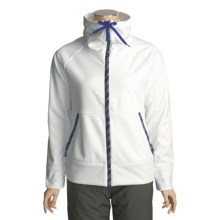 Burton Lyric Soft Shell Jacket (For Women) in Bright White - Closeouts