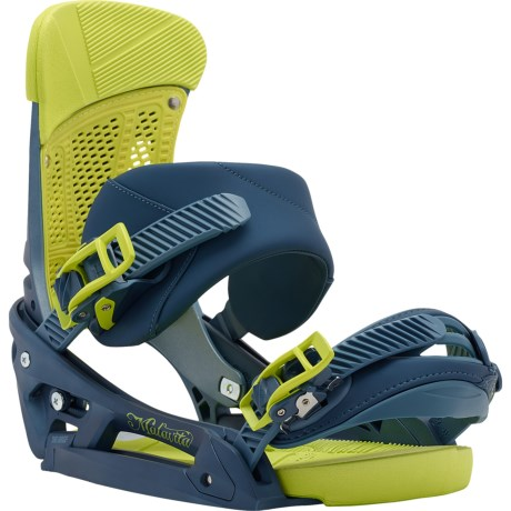 Burton Malavita EST Snowboard Bindings in Blue Steel