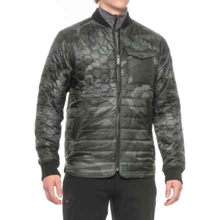Burton Mallett Jacket - Insulated (For Men) in Beetle Derby Camo - Closeouts