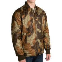 Burton Mallett Jacket - Insulated (For Men) in Mountain Camo - Closeouts