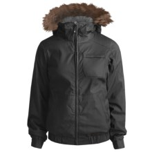Burton Maria Jacket - Insulated (For Women) in True Black - Closeouts
