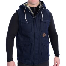 Burton Match Vest - Melton Wool (For Men) in Night Rider - Closeouts