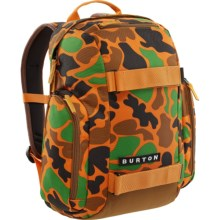 Burton Metalhead 18L Backpack (For Big Kids) in Duck Hunter Camo - Closeouts