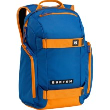 Burton Metalhead Backpack in Cyanide/Safety Orange - Closeouts