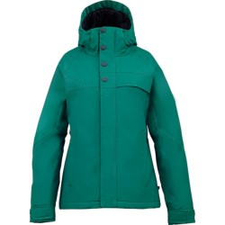 Burton Method Jacket - Insulated (For Women) in Cornflwr Hi Tide Stripe