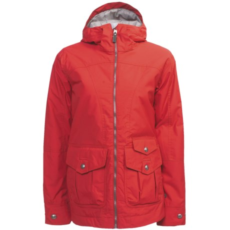 Burton Method Jacket - Insulated (For Women) in Risque