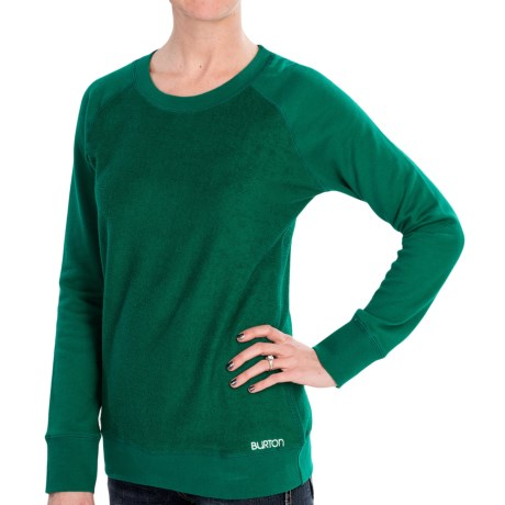 Burton Mid Eiffel Sweater - Cotton (For Women) in Night Rider