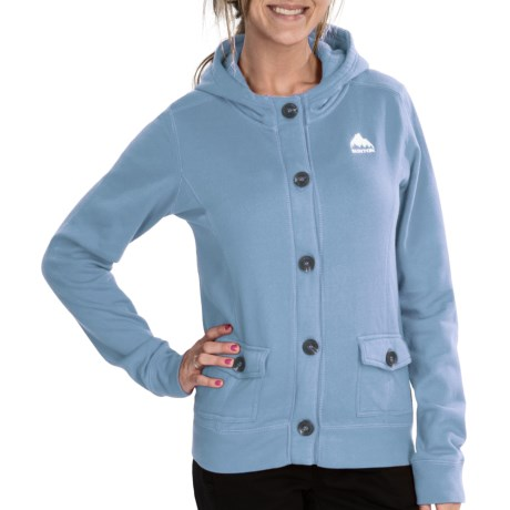 Burton Mid Hazel Hoodie - Full Zip (For Women) in Cape