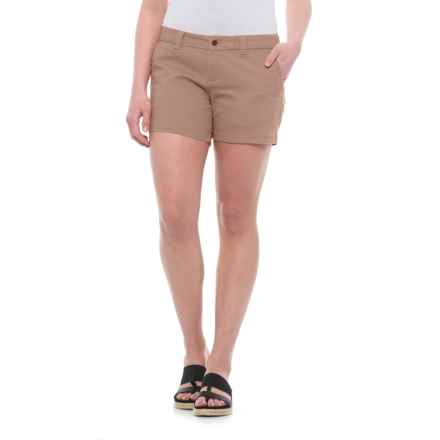 Burton Mid Shorts - Stretch Cotton (For Women) in Kelp - Closeouts