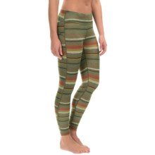 Burton Midweight Dri-Release® Base Layer Bottoms (For Women) in Blanket Stripe - Closeouts