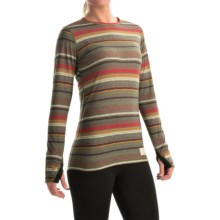 Burton Midweight Dri-Release® Base Layer Top - Long Sleeve (For Women) in Blanket Stripe - Closeouts