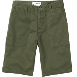 Burton Military Chino Shorts (For Boys) in Olive