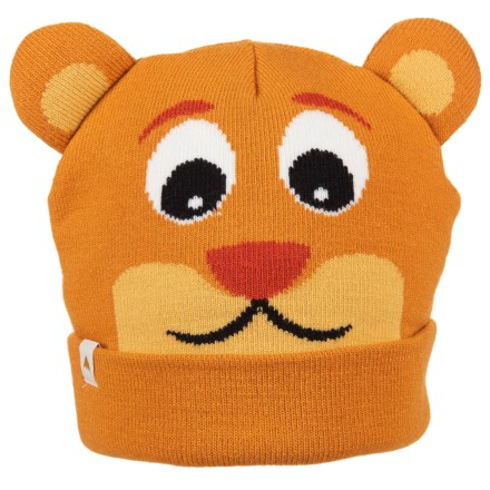 bc34a0a2454 Burton Mini Bear Beanie (For Boys) in Honey Bear - Closeouts