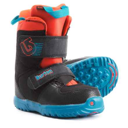 Burton Mini-Grom Snowboard Boots (For Youth) in Webslinger Blue - Closeouts
