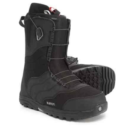 Burton Mint BOA® Snowboard Boots (For Women) in Black - Closeouts