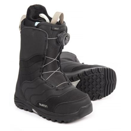 768f74e58 Burton Mint BOA® Snowboard Boots (For Women) in Black - Closeouts