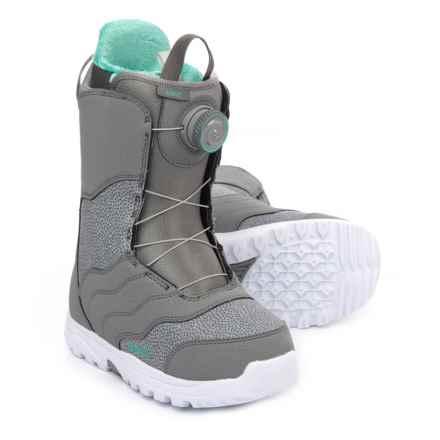 Burton Mint BOA® Snowboard Boots (For Women) in Gray - Closeouts