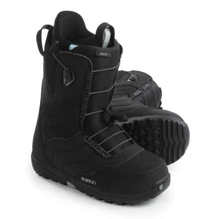 Burton Mint Snowboard Boots (For Women) in Black - Closeouts