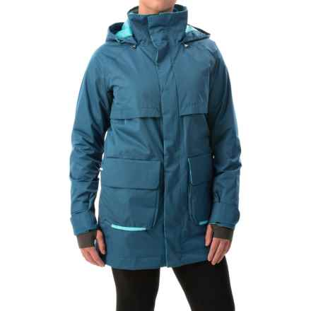 Burton Mirage Snowboard Jacket - Waterproof, Insulated (For Women) in Dusk/Ultra Blue - Closeouts
