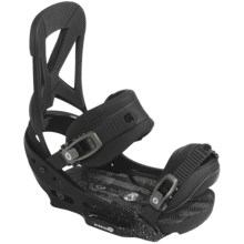 Burton Mission EST Snowboard Bindings in Black Lung - Closeouts