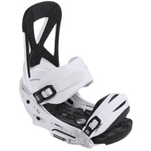 Burton Mission EST Snowboard Bindings in Talcum - Closeouts
