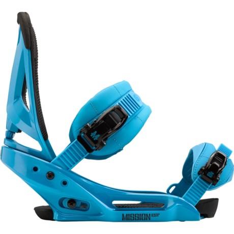Burton Mission EST Snowboard Bindings in True Blue