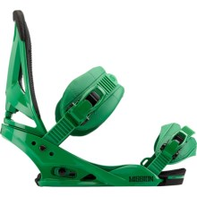 Burton Mission Snowboard Bindings in Grass - Closeouts