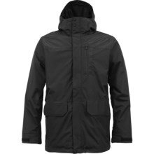 Burton Mob System Jacket - 3-in-1, Waterproof, Insulated (For Men) in True Black - Closeouts