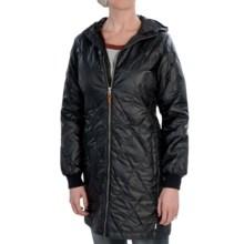 Burton Monarch Down-Filled Trench Coat (For Women) in True Black - Closeouts