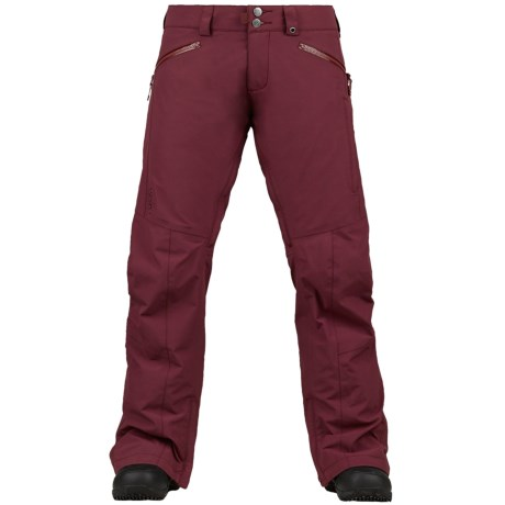 Burton Mosaic Gore-Tex® Snowboard Pants - Waterproof (For Women) in Sangria