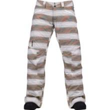 Burton Mosaic Gore-Tex® Snowboard Pants - Waterproof (For Women) in Space Dye Stripe - Closeouts