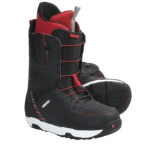 Burton Moto Snowboard Boots (For Men) in Black/White/Multi - Closeouts