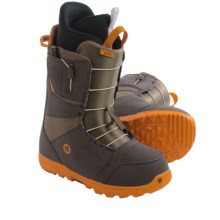 Burton Moto Snowboard Boots (For Men) in Brown/Orange - Closeouts