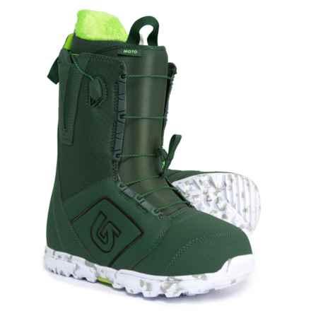 Burton Moto Snowboard Boots (For Men) in Green - Closeouts