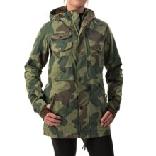 Burton Mystery Gore-Tex® Snowboard Jacket - Waterproof, Insulated (For Women) in Denison Camo - Closeouts